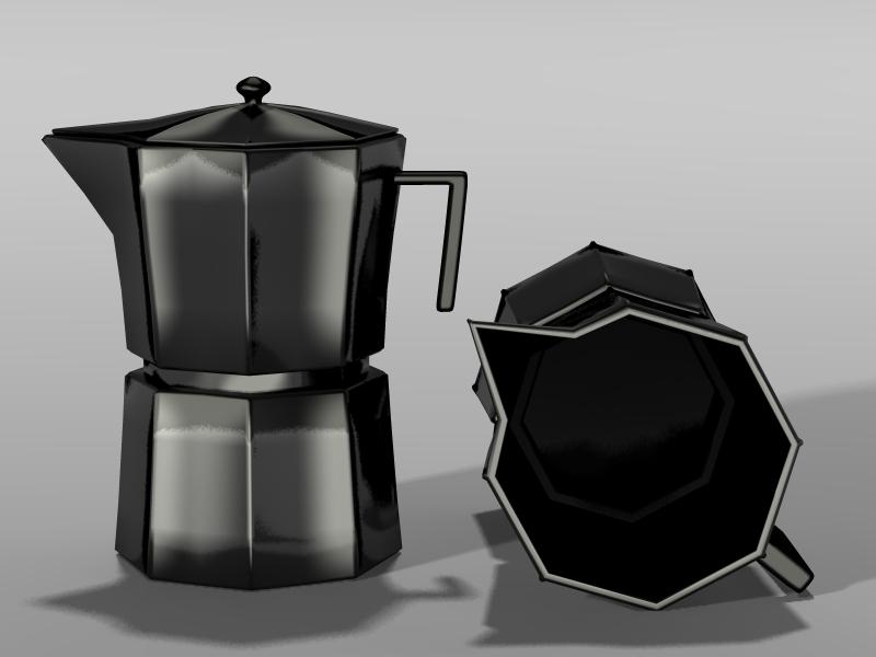 Espresso Pot 1