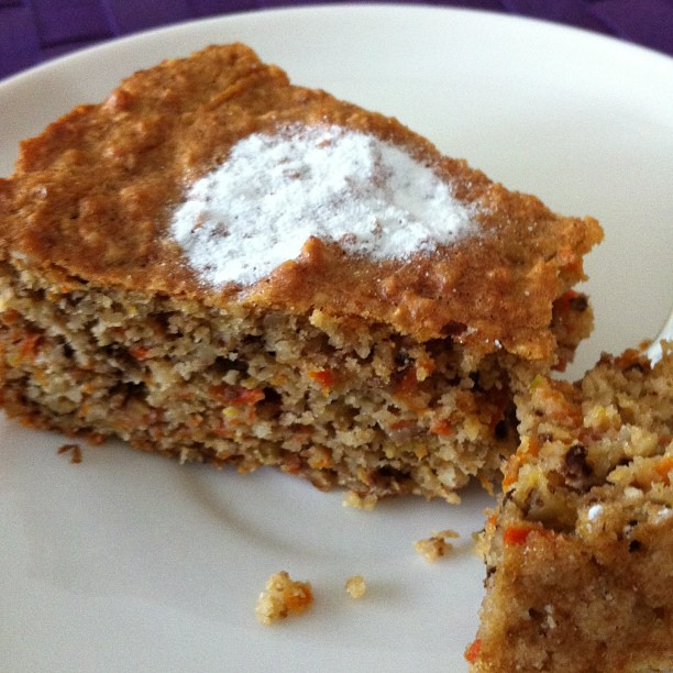 Cake With Nuts And Carrots