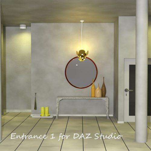 Entrance 1 for DAZ Studio